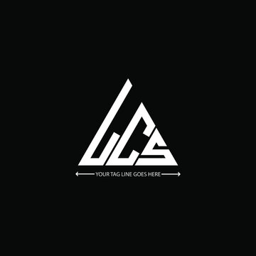 LCS letter logo creative design. LCS unique design