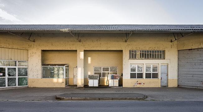 Une station-service à Argentat