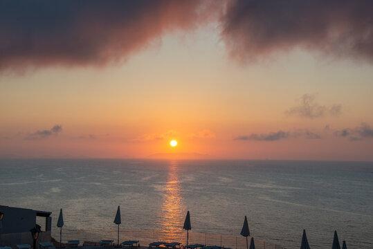 tramonto in sardegna
