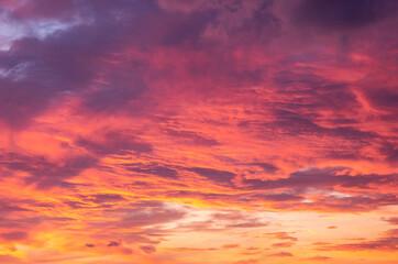 Zonsondergang wolken 2