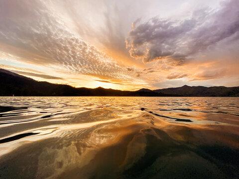 Beautiful Sunset - Whiskeytown Lake, CA