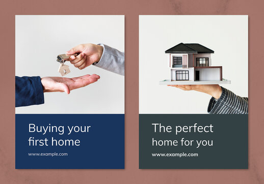 Home Insurance Poster Layout