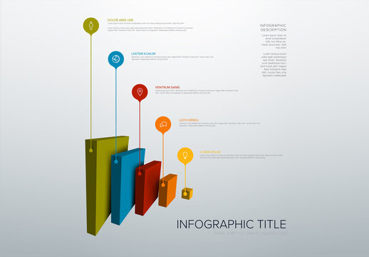 Vertical Layers Blocks Infographic Layout