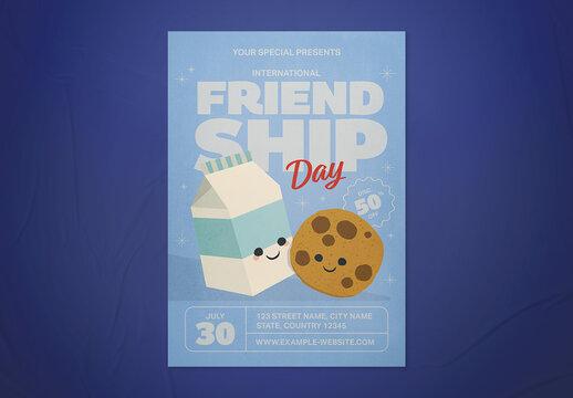 International Friendship Day Flyer