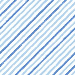 Diagonal stripes pattern, seamless brush texture lines background, monochrome geometric parallel strokes, oblique linear vector