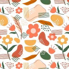 Organic Flat Design Abstract Element Pattern_2