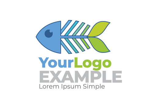 Finisheries and Agriculture Fish Plan Symbol Logo