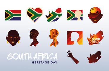 Fototapeta south africa heritage day obraz