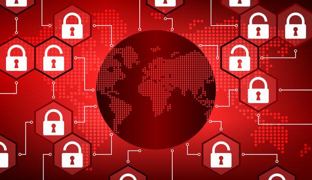 Réseau Mondial Internet et Sécurité Rouge