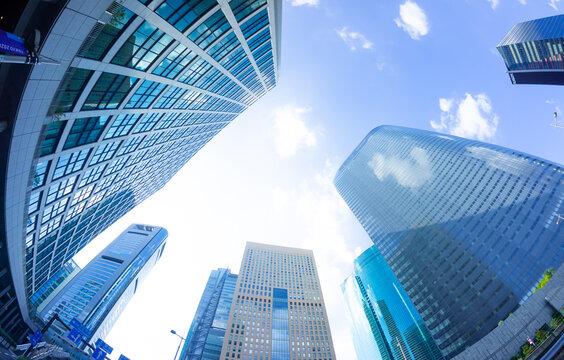 東京風景2021 超高層ビル群