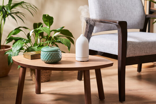 Beautiful vase and aroma diffuser.
