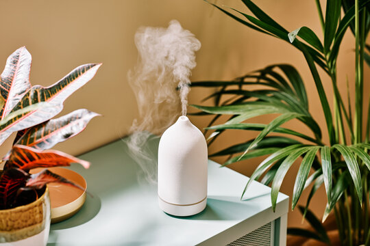 Wireless contemporary diffuser at home.