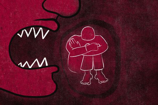 Bullying illustration