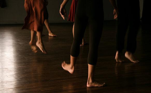 ballet dancers in action