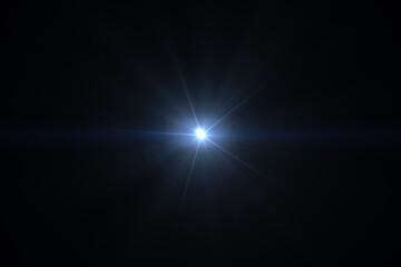 sun light lens flares art animation background