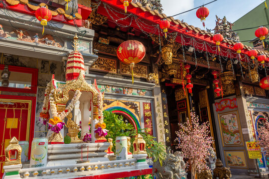 Leong San See temple (Buddhist temple in Singapore built in 1917)