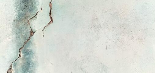 Postarzana stara ściana, butelkowe tło z teksturą pęknięć. Tapeta