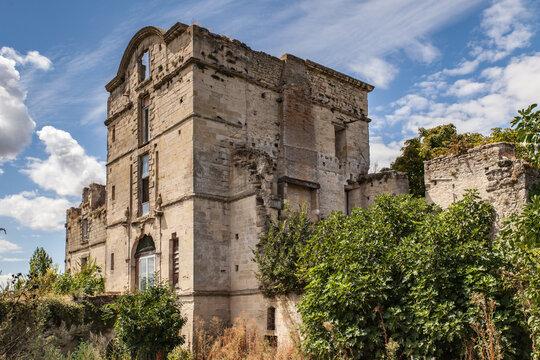 Monteton (Lot et Garonne, France) - Ancien château