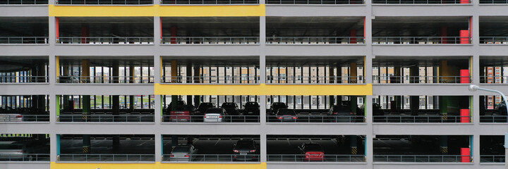 Multilevel parking for car parking in big cities