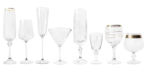 Fototapeta Collection of wineglasses obraz
