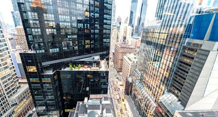 Skyscrapers of Manhattan - New York City
