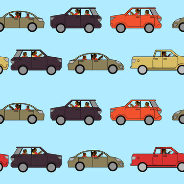 Car pattern 1