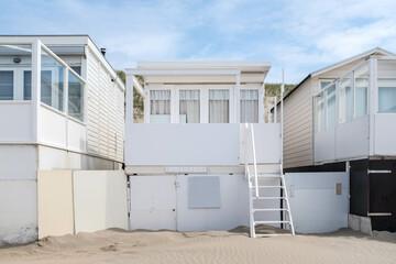 Beach house near Wijk aan Zee, Noord-Holland Province, The Netherlands