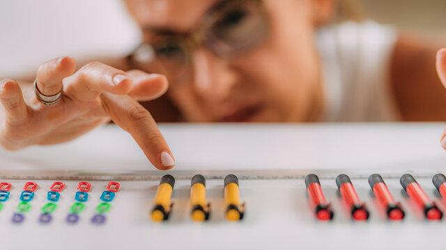 OCD or obsessive compulsive disorder concept