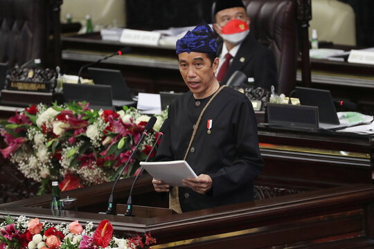 Annual State of the Nation Address ahead of Indonesia's Independence Day