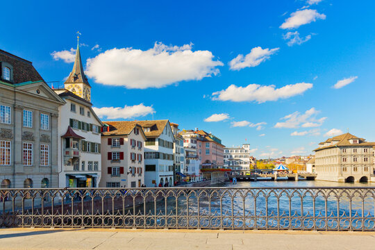 Panorama von Zürich, Schweiz