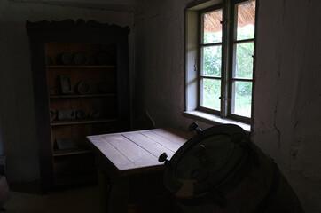 wnętrze starego domu