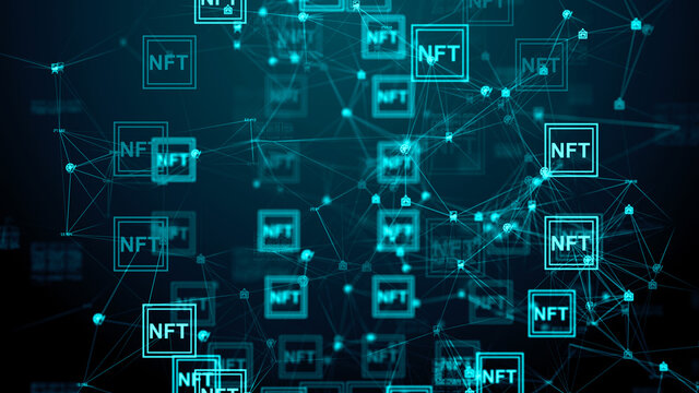 NFTs non-fungible token NFT digital files underpinned by blockchain technology