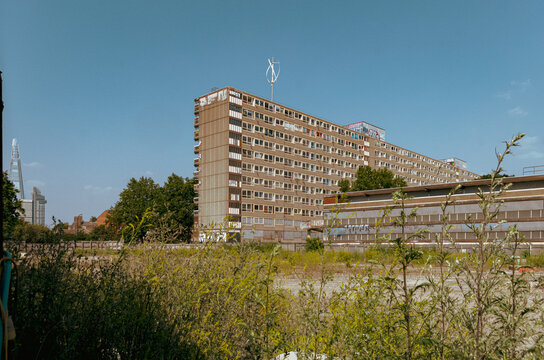 The Heygate Estate. The Heygate Estate was a large housing estate in Walworth, Southwark, South London