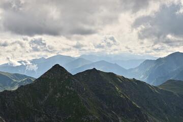 Fototapeta Góry w chmurach  obraz