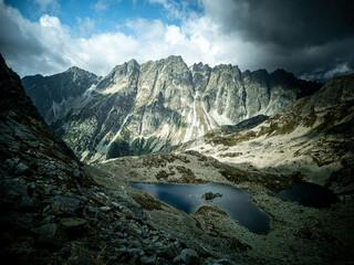 Fototapeta Slovak Tatra Mountains - Dolina Żabia Mięguszowiecka obraz
