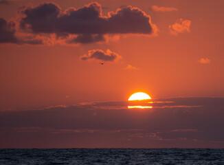 Fototapeta Niebo zachód słońca obraz