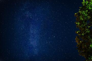 Obraz Gwieździste niebo - fototapety do salonu