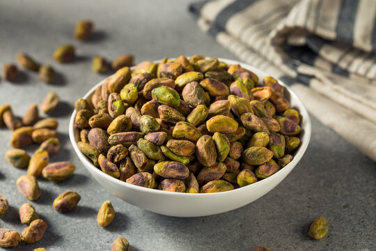 Raw Organic Salted and Roasted Pistachios