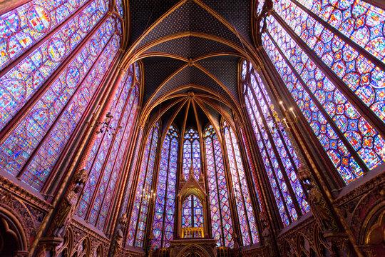Kathedrale Sainte-Chapelle in Paris, Frankreich