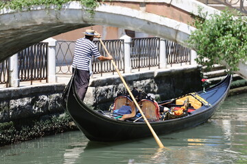 Venice Gondola Ride, Italy