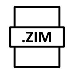 Fototapeta .ZIM Linear Vector Icon Design obraz