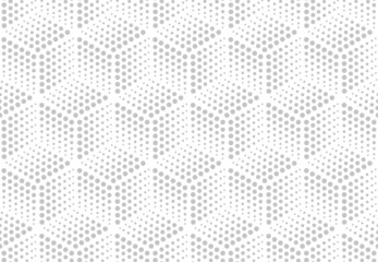 Obraz Abstract geometric pattern. A seamless vector background. White and grey ornament. Graphic modern pattern. Simple lattice graphic design. - fototapety do salonu