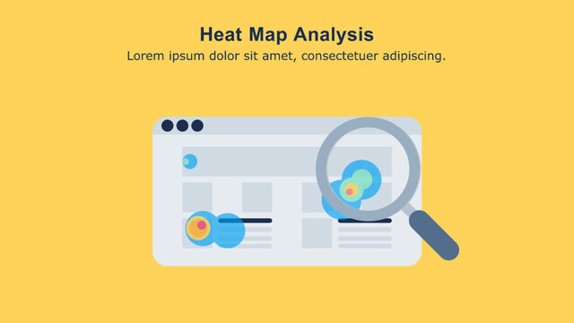 Heat map analysis is a process of reviewing and analyzing heat map data to gather insights about user interaction on the page.