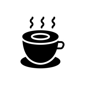coffee cup icon vector for your design element