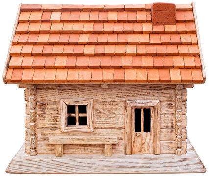 Wooden Chalet House Cutout