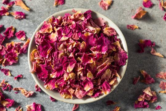 Healthy Organic Culinary Rose Petals