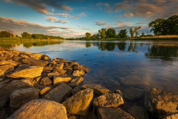 Obraz Rzeka Odra - fototapety do salonu