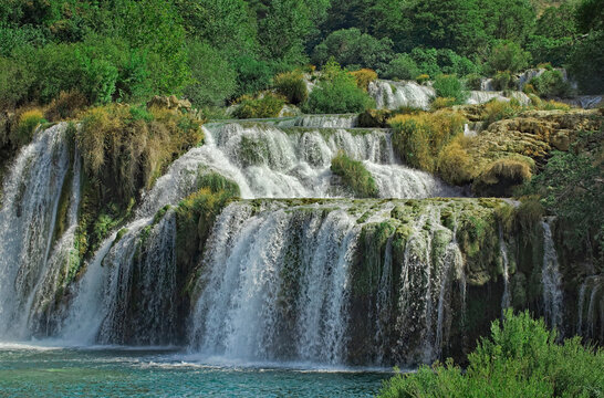 Krka River Waterfall Croatia
