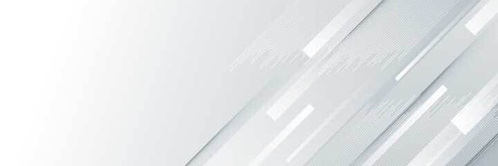Modern abstract light silver background vector. Elegant concept design with white grey line.