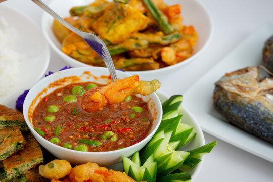 Thai Shrimp Paste Chili Sauce ( Nam Prik Kapi )